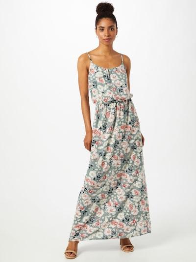 pasztellzöld / rózsaszín / fehér melír ONLY Nyári ruhák 'NOVA', Modell nézet