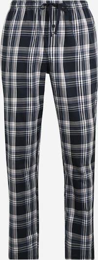SCHIESSER Pidžama hlače u morsko plava / bijela, Pregled proizvoda