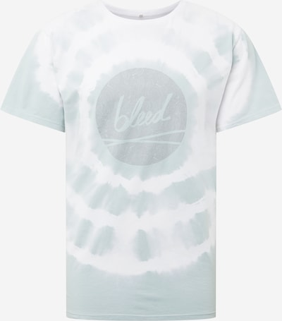 bleed clothing Tričko - pastelovo modrá / biela: Pohľad spredu