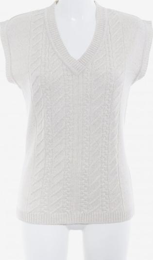 Menke Strickshirt in S in creme, Produktansicht