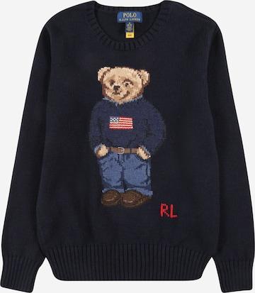 Pull-over Polo Ralph Lauren en bleu