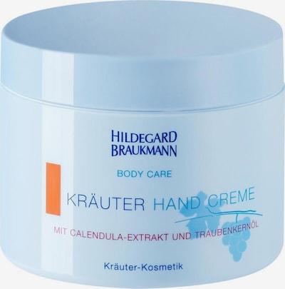 Hildegard Braukmann Handcreme in himmelblau, Produktansicht