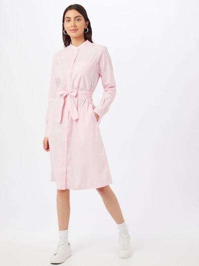 BOSS Casual Košilové šaty 'Damona' - pink / bílá, Model/ka