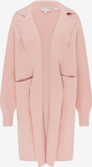 Usha Knitted coat in light pink, Item view