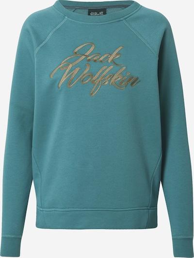 JACK WOLFSKIN Sportief sweatshirt in de kleur Pastelblauw / Lichtbruin, Productweergave