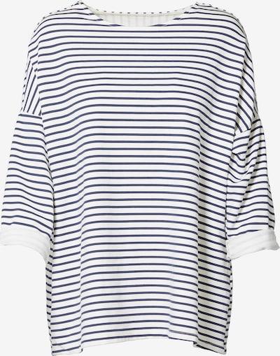 NÜ DENMARK Shirt in blau / weiß, Produktansicht