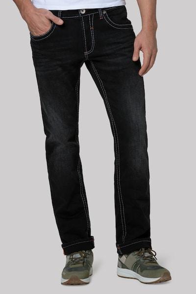 CAMP DAVID Jeans in anthrazit, Modelansicht