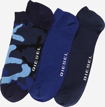 DIESEL Socken in marine / navy / hellblau, Produktansicht