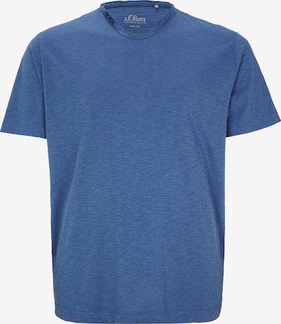 s.Oliver T-Shirt in rauchblau: Frontalansicht