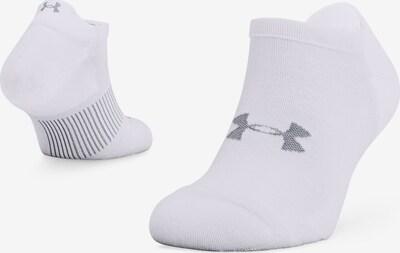 UNDER ARMOUR Sportsokken in de kleur Grijs / Wit, Productweergave