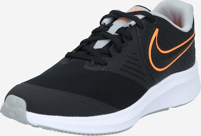 NIKE Športni čevelj 'Star Runner 2' | oranžna / črna / bela barva, Prikaz izdelka