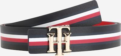 TOMMY HILFIGER Opasek - tmavě modrá / červená / bílá, Produkt