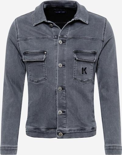 Karl Lagerfeld Denim Tussenjas 'Denim' in de kleur Grijs, Productweergave