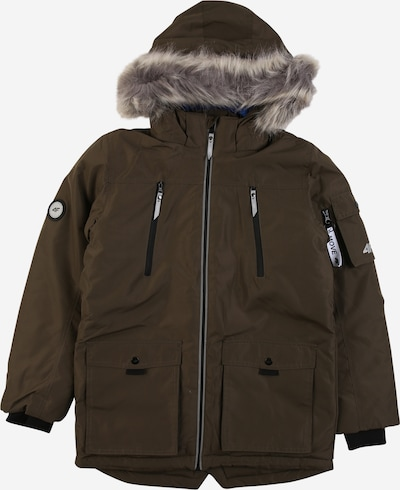 4F Outdoor jacket in khaki, Item view