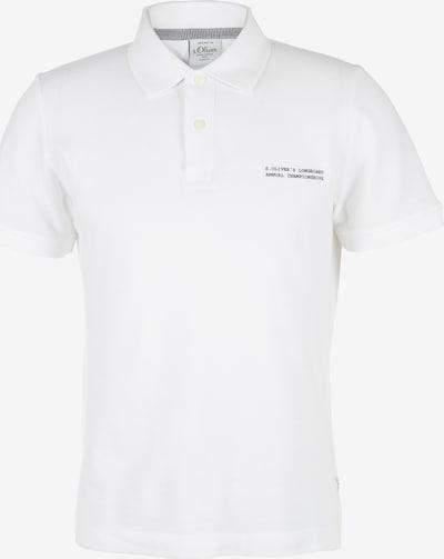 s.Oliver Poloshirt in weiß, Produktansicht