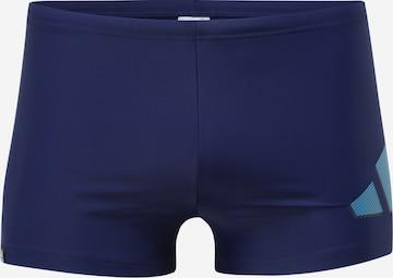 Maillot de bain de sport ADIDAS PERFORMANCE en bleu