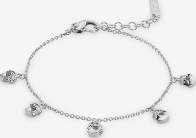 JETTE Armband in silber / transparent, Produktansicht