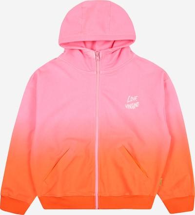 VINGINO Sweatjacke 'Oneida' in dunkelorange / rosé, Produktansicht