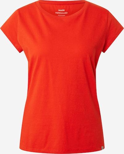 MADS NORGAARD COPENHAGEN T-Shirt 'Favorite Teasy' in feuerrot, Produktansicht