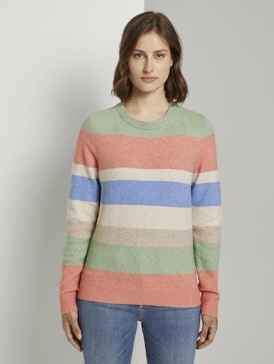 TOM TAILOR DENIM Pullover in mischfarben, Modelansicht