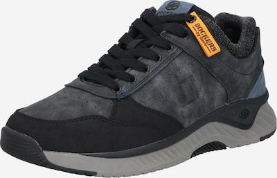 Dockers by Gerli Sneakers laag in de kleur Grafiet / Zwart, Productweergave