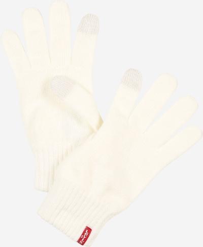 LEVI'S Full Finger Gloves 'BEN' in Cream, Item view