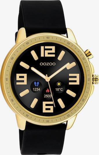 OOZOO Smartwatch in gold / schwarz, Produktansicht