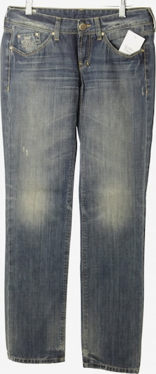 Staff Jeans & Co Straight-Leg Jeans in 28 in rauchgrau / wollweiß, Produktansicht