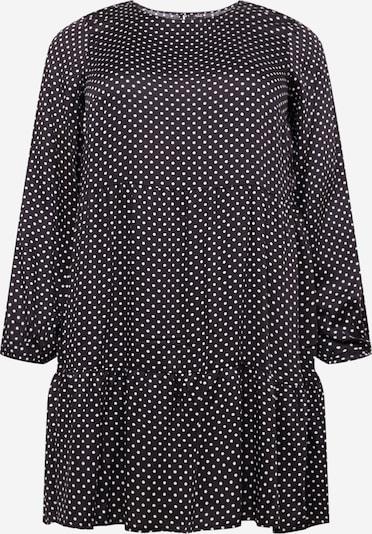 Vero Moda Curve Obleka 'FIE' | črna / bela barva, Prikaz izdelka