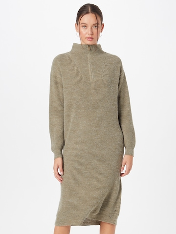 ICHI Knitted dress 'Ihnovo' in Green