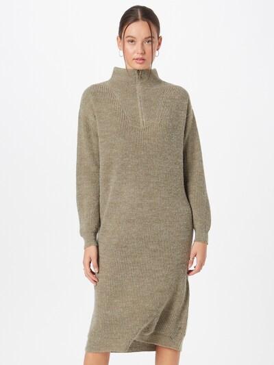 ICHI Kleid 'Ihnovo' in oliv, Modelansicht