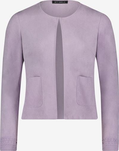 Betty Barclay Blazer-Jacke langarm in lila, Produktansicht