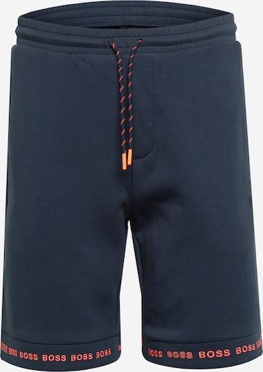 Pantaloni 'Headlo 1' BOSS ATHLEISURE pe bleumarin / roșu pepene, Vizualizare produs