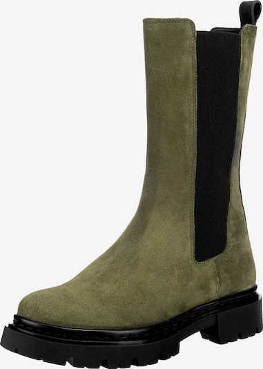 JOLANA & FENENA Chelsea Boots in dunkelgrün, Produktansicht