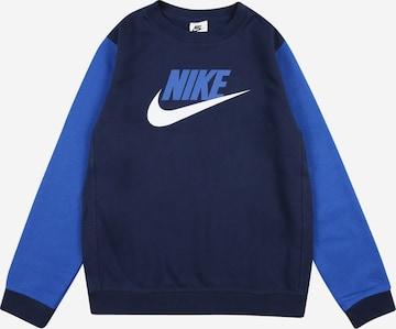 Nike Sportswear Sweatshirt in Blau