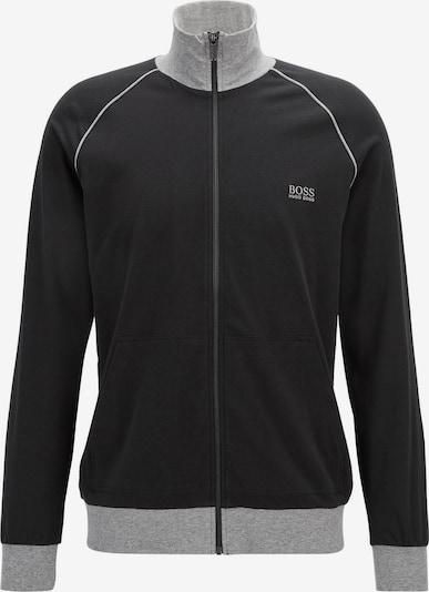 BOSS Casual Sweatvest in de kleur Zwart, Productweergave