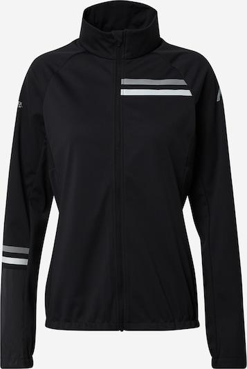 Rukka Veste de sport 'ROMBY' en gris argenté / noir / blanc, Vue avec produit