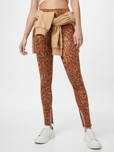 Ragdoll LA Leggings en marron / orange, Vue avec modèle