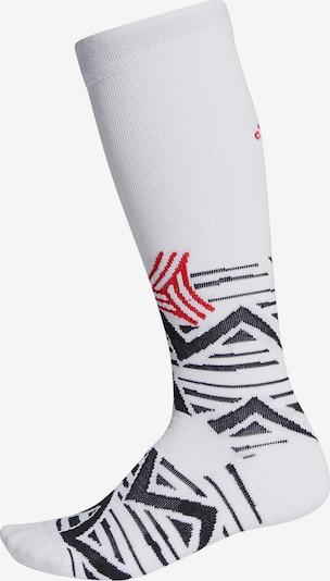 ADIDAS PERFORMANCE Socken in rot / schwarz / weiß, Produktansicht