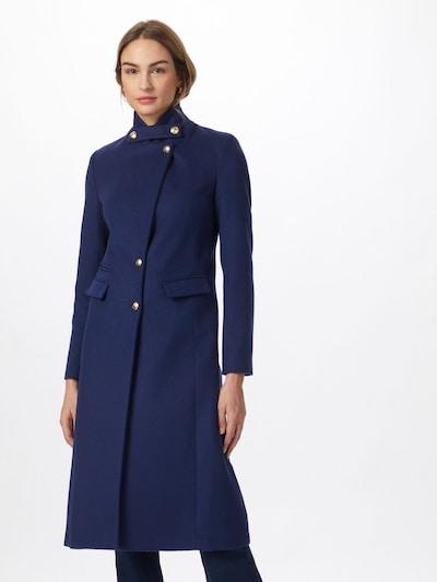"""Demisezoninis paltas iš PATRIZIA PEPE , spalva - sodri mėlyna (""""karališka""""), Modelio vaizdas"""