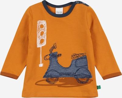 Fred's World by GREEN COTTON Camiseta 'City T' en navy / marrón / cognac / blanco, Vista del producto
