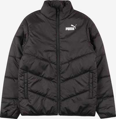 PUMA Prijelazna jakna u crna / bijela, Pregled proizvoda
