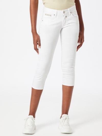 Jeans Herrlicher pe alb, Vizualizare model