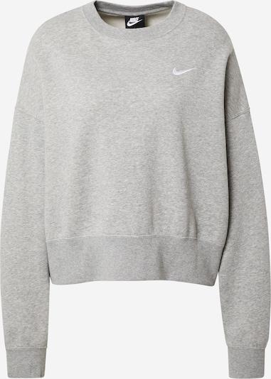 Nike Sportswear Sweatshirt 'Essentials' in graumeliert, Produktansicht