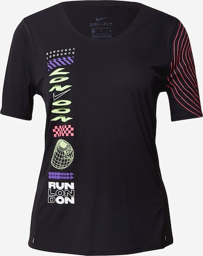 NIKE T-shirt fonctionnel 'City Sleek London' en noir, Vue avec produit