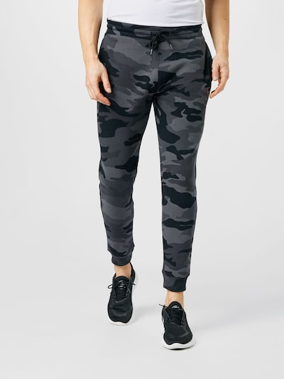 HOLLISTER Trousers in grey / light grey / black, View model