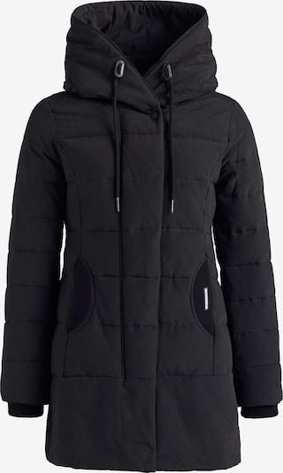 khujo Winterjas ' Sherma ' in de kleur Zwart, Productweergave