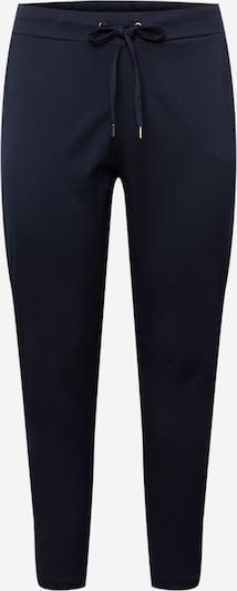 Pantaloni 'Ladiana' KAFFE CURVE pe albastru închis, Vizualizare produs