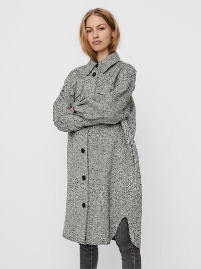 VERO MODA Mantel 'Rosie' in schwarz / weiß, Modelansicht