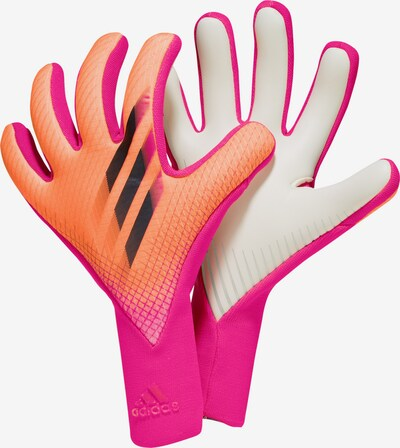 ADIDAS PERFORMANCE Handschuh in grau / orange / pink / schwarz / weiß, Produktansicht
